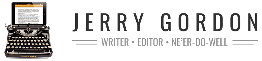 Jerry Gordon - Official Website of Fiction Author and Editor Jerry Gordon